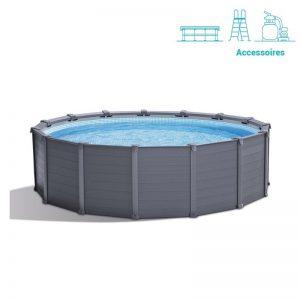 piscine intex graphite