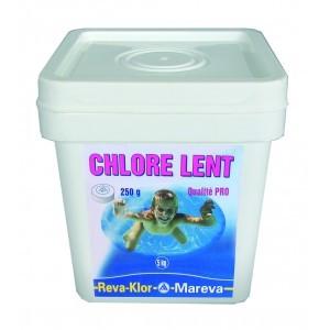 Chlore Lent en Galets
