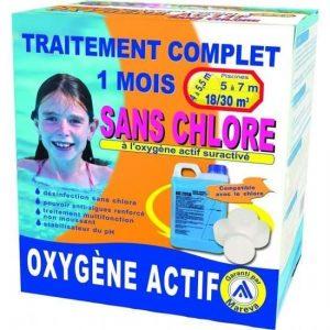 KIT TRAITEMENT OXYGENE ACTIF 18/30M3