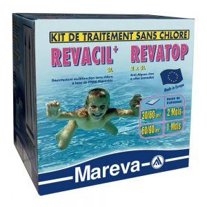 Kit traitement sans chlore REVACIL REVATOP